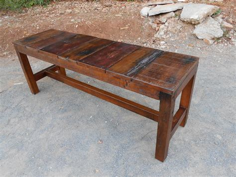 rustic wooden benches indoor reclaimed old wood rest benches rustic indoor benches