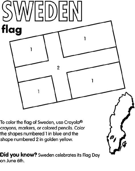 scandinavia map coloring page sweden coloring page crayola com