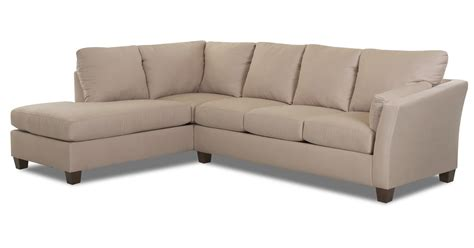 Microsuede Sectional Klaussner Drew Sectional Sofa Microsuede Khaki Drewsectb