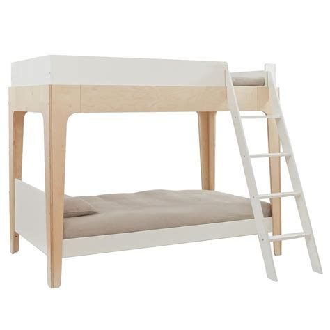 oeuf bunk bed perch modern classic oeuf twin bunk bed birch kathy
