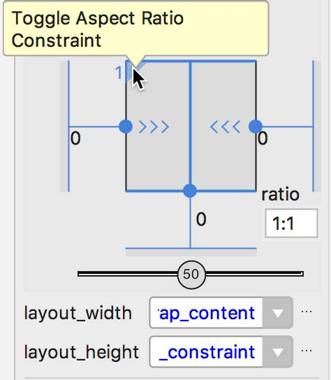 layout constraints height use constraintlayout to design your android views