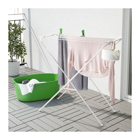 jall drying rack indoor outdoor white furniture source