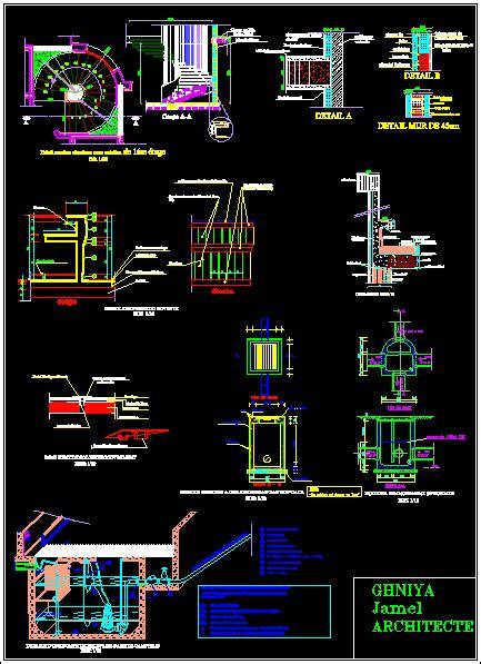 details  execution dwg detail  autocad designs cad