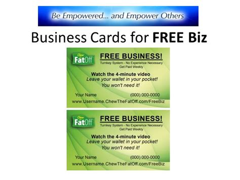 Biz Business Cards