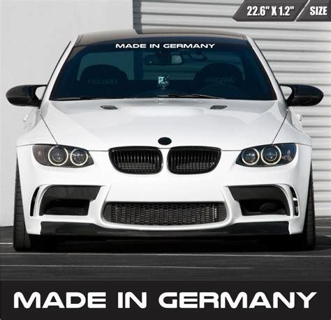 Bmw Frontscheibenaufkleber by 10 Best Audi Benz Bmw Volkswagen Stickers Decals