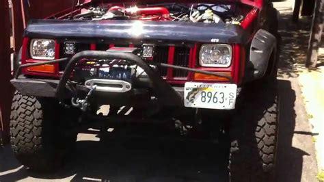 4bt cummins jeep cherokee jeep cherokee xj 4bt youtube
