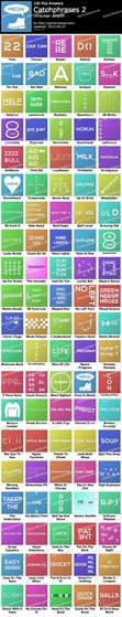100 pics catchphrases 2 game solver