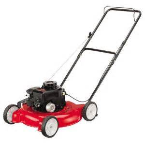 push lawn mowers at home depot mtd 20 in 148 cc walk gas lawn mower discontinued