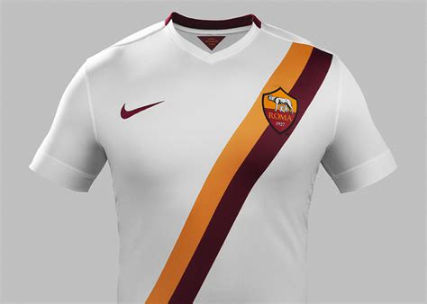 As Roma 01 camiseta as roma nike alternativa 2014 15 marca de gol