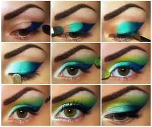 colorful eye makeup colorful eye makeup green teal blue i makeup