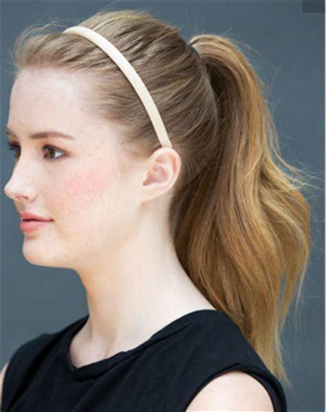 model rambut ekor kuda tutorial rambut cantik dan sederhana dalam waktu 10 detik