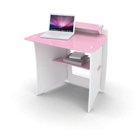 legare pink and white desk legare 34 inch desk pink and white 145 08