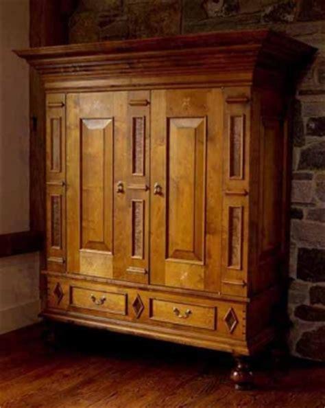 TV Cabinet w/ Maple & Walnut   Dorset Custom Furniture