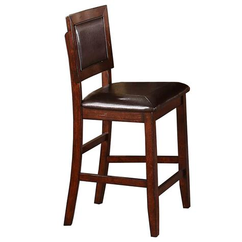 winners only fallbrook dfmt145524 counter fallbrook cushioned back counter height barstool rotmans