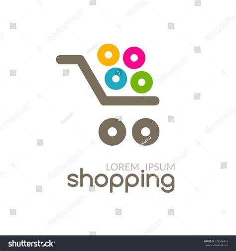 design online shop online shop mall market concept cart stock vector