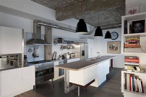 industrial home kitchen dgmagnets - Industrial Kitchen Design
