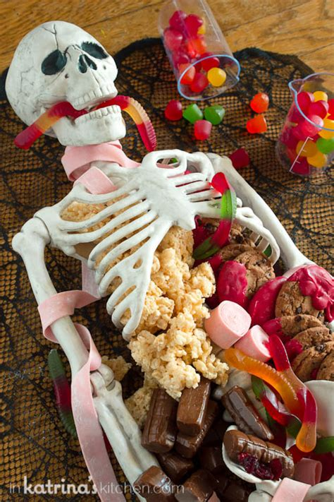 halloween themed desserts halloween dessert table skeleton