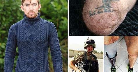 Brits Lost Weekend Before Rehab by Royal Marine Andy Grant Who Lost A Leg After Being