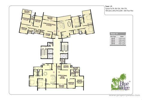 blue ridge floor plan paranjape blue ridge hinjewadi pune apartment flat