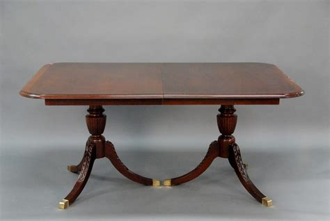 double pedestal dining room table wonderful duncan phyfe dining room table mahogany double