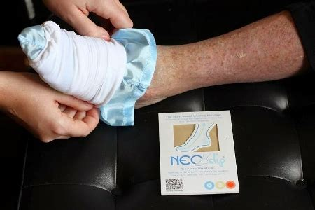 sock aid inventor neo slip sales through the roof following dragons den