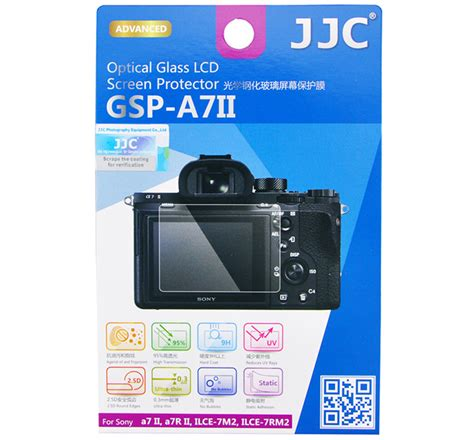 Flex Lcd Sony A7ii A7 Ii Ilce 7m2 jjc gsp a7ii optical glass lcd screen protector for sony a7 ii a7r ii a9 a7s ii miyamondomiyamondo