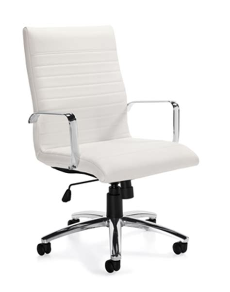 modern white office chairs offices to go otg11730 in the