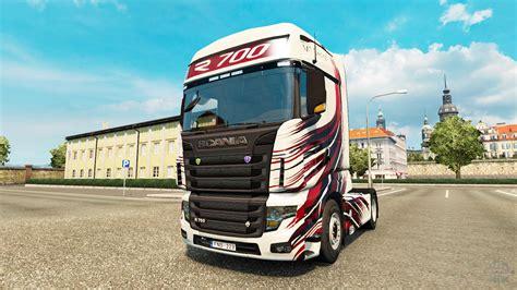 mt design pele para a scania caminh 227 o r700 para truck