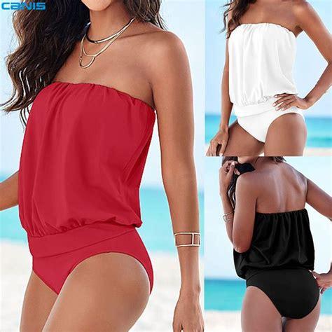 Pakaian Baju Renang Wanita Womens Speedo Fit Tankini 17 best images about one suits on swim bodysuit and