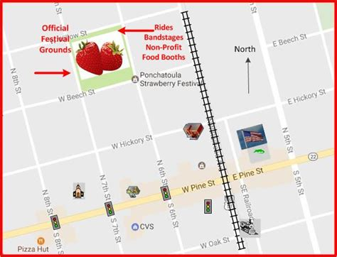 louisiana festival map ponchatoula strawberry festival ponchatoula la 70454 gt home