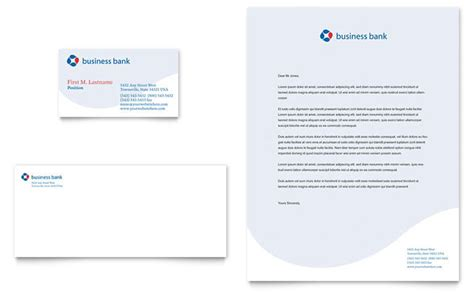 Citibank Letterhead business bank business card letterhead template design