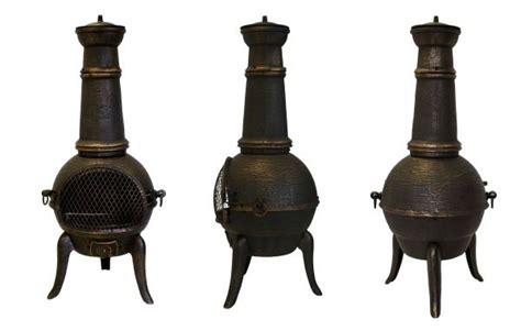 Chiminea Heat Santa Lucia Cast Iron Chiminea Outdoor Fireplace Yard