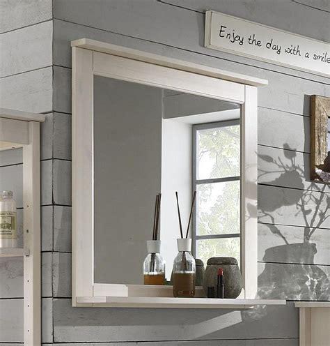 Spiegelle Badezimmer by Badezimmer Spiegel 67x67 Kiefer Wei 223 Lasiert Badspiegel