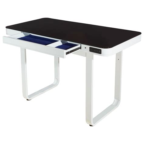 convertible standing desk powell lynk white lynk convertible standing desk from 30