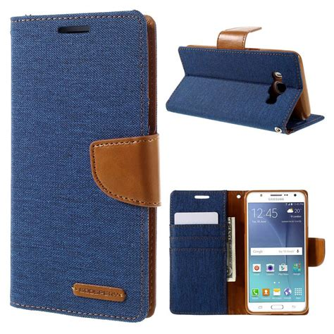 Flipcase Canvas Diary Samsung Galaxy Z2 Flip Cover Wallet Flip Cover samsung galaxy j5 2016 canvas blue