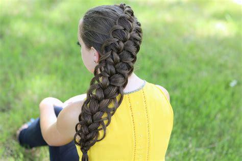 easter time avarde look hairstles diagonal french loop braid cute braid hairstyles cute