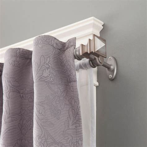 double rod curtains kenney arts and crafts 28 in 48 in telescoping 5 8 in
