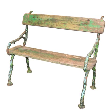 garden bench painted antique french painted wood garden bench foxglove