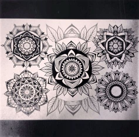 artwork by alex tabuns tattoo idea mandala tattoo