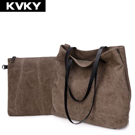 New 6 In 1 Korean Travel Bag In Bag Cherry 1 Set Isi 6 Pcs Organizer 1 kvky new korean fashion brief vintage canvas composite bag fashion shoulder bag large