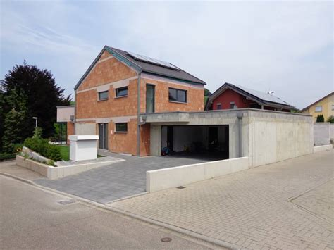 Single Garage Kr 228 Mer Architekten Haus U Durbach