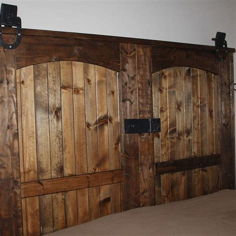 34 Best Images About Diy Rustic On Pinterest Easy Diy Barn Door Headboard
