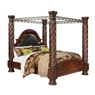 north shore king canopy bed set by ashley la furniture signature design by ashley 174 north shore king canopy bed