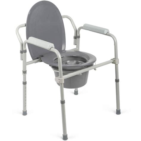 bed side commode medline steel 3 in 1 bedside toilet commode walmart com