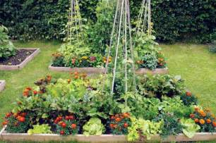 Flowers In Vegetable Garden Intensive Gardening Grow More Food In Less Space Awaken