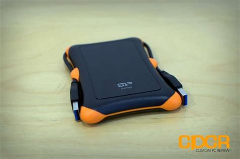 silicon power rugged armor a30 review silicon power armor a30 2tb usb 3 0 portable drive custom pc review