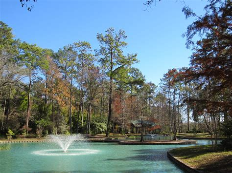 Good Gardens In Houston #7: 1280px-Mercer_Arboretum%2C_2012%2C_Storey_Lake_fountain.JPG