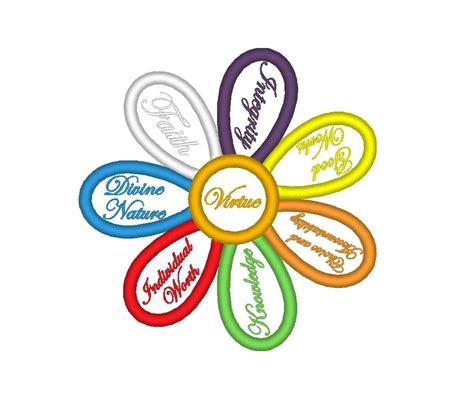 yw value colors yw values colors flower applique lds