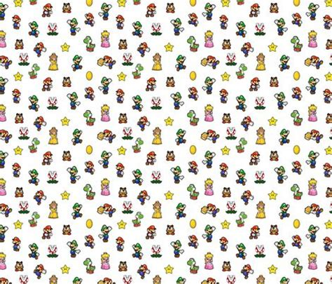 Mini Bros Motif 17 best images about custom mini fabrics on the hunger mario