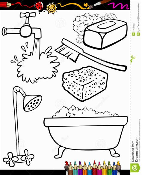 coloring pages personal hygiene hygiene coloring pages coloring pages